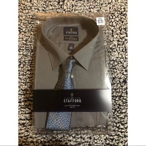Men's Dress Shirt & Tie